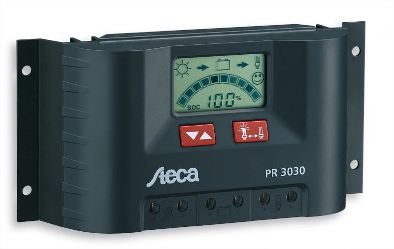 Kонтролер PR 2020 12/24 V 20A + LCD дисплeй