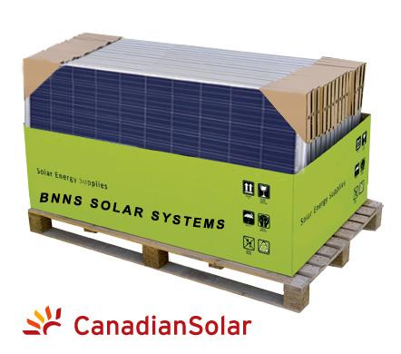 PALLET CANADIAN SOLAR CS6P-P 220-250 Wp